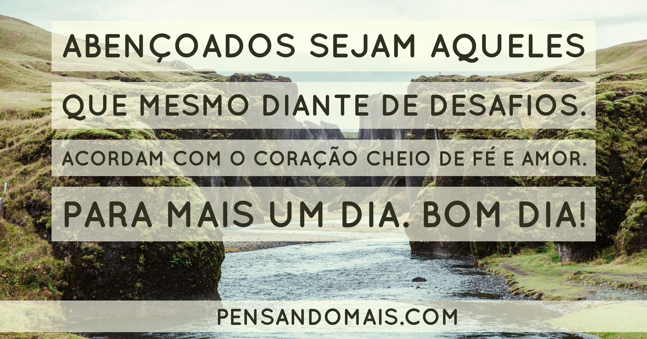 Frases Curtas De Bom Dia Fé E Amor